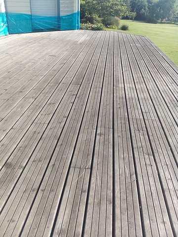 Nettoyage terrasse bois 1