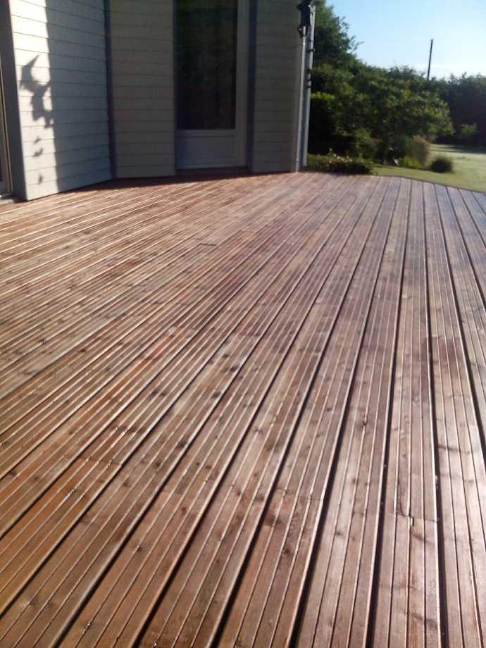 nettoyage terrasse bois ou carrelage (balcon)