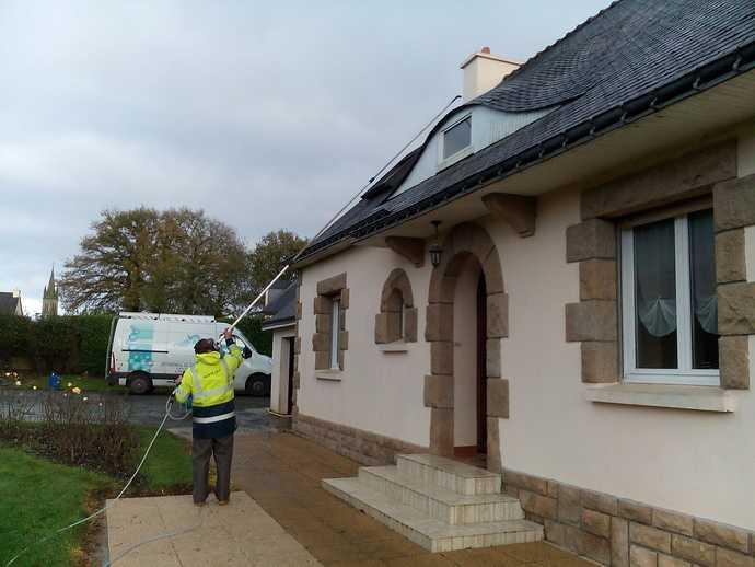 nettoyage facade maison